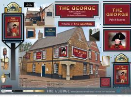 The George, Desborough (рядом с городом Harrington)