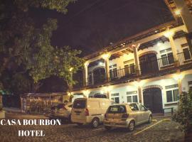 Casa Bourbon Hotel, Pucá (рядом с городом Retalhuleu)