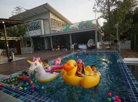 Magood Pool Villa, Kanchanaburi