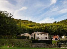 Villa Il Noce, Serrapetrona (Tolentino yakınında)