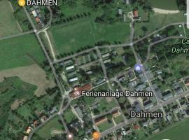 Bungalow am Malchiner See, Dahmen (Ulrichshusen yakınında)