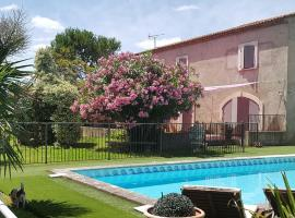 ACCENT IMMOBILIER - Mas Brau, piscine chauffée, 8 pers, Châteaurenard (рядом с городом Rognonas)