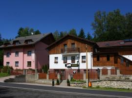 Penzion Kozabar, Horní Luby (Erlbach yakınında)