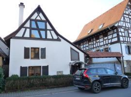Ferienwohnung der Familie Budzisch, Sinsheim (Tiefenbach yakınında)