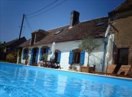Maison De Campagne Avec Piscine, Les Gauguins (рядом с городом Savigny-sur-Clairis)