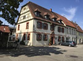 Gasthaus Löwen, Sinsheim (Hilsbach yakınında)