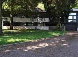 Maison d'architecte au bord de l'eau, Pont-d'Ain (рядом с городом Neuville-sur-Ain)