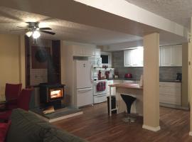 Cozy basement suite with private entrance