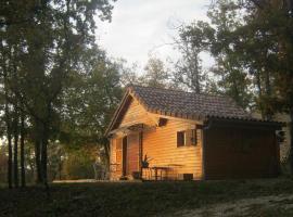 Chalet dans les bois du quercy, Belmont-Sainte-Foi (рядом с городом Saint-Georges)