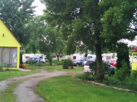 Tópart Camping, Дьёр (рядом с городом Abda)