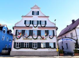 Gasthof und Hotel zum Hirsch, Ichenhausen (Waldstetten yakınında)