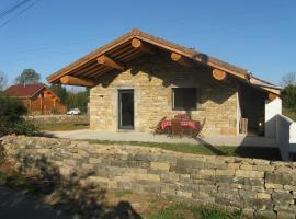Gîte chez karine et roland, Le Fied (рядом с городом Crotenay)