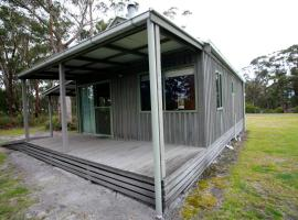 Brodribb River Rainforest Cabins - Cabin 1, Marlo (Orbost yakınında)