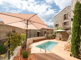 Propriano Location : Chambre dans maison de standing 2/2, Fozzano (рядом с городом Santa-Maria-Figaniella)