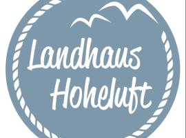 Landhaus Hoheluft OG - Steinberg, Steinberg (Steinbergkirche yakınında)