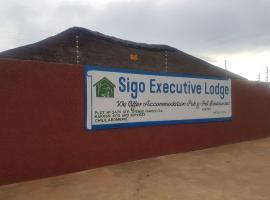 Sigo Executive Lodge, Chililabombwe (in de buurt van Chingola)