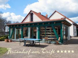 Ferienhof am Trift, Appartement 3 Schwalbennest - [#73099]