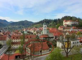 CEH 1720 - castle view, Škofja Loka