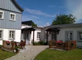 Ferienwohnungen Mühlenhof Oberseifersdorf, Zittau (Herrnhut yakınında)