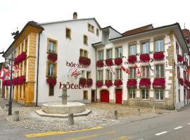 Hôtel du Port, Estavayer-le-Lac (Cheyres yakınında)