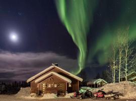Kelotin Rantamajat, Leppäjärvi (Near Hetta Hiihtomaa Ski)