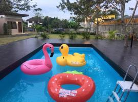 Bakeriana villa and pool, Ban Ton Chok