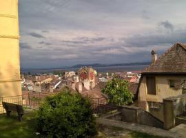 Appartement N. Tiba, Neuchâtel (Peseux yakınında)