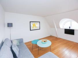 Modern, bright attic apartment for up to 3 guests
