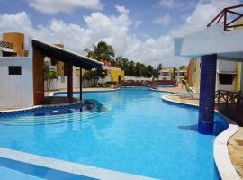 Luxury apartment 2 with pool & sea view MC1, Maracajaú (Caraúbas yakınında)