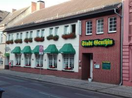 Hotel & Restaurant Stadt Genthin, Genthin (Zerben yakınında)