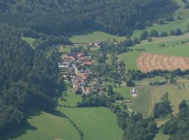 Ferienwohnung Gareus, Zittenfelden (Reinhardsachsen yakınında)