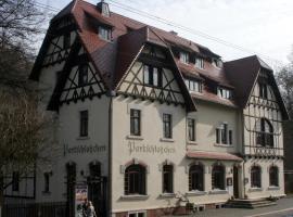 Springmann´s Parkschlösschen Lichtenstein, Lichtenstein (Oelsnitz yakınında)