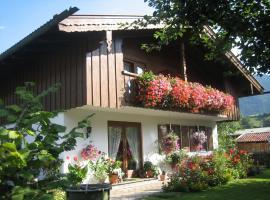 Gästehaus Proisl, Lenggries (Fall yakınında)