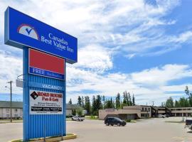 Canadas Best Value Inn Whitecourt, Whitecourt (Mayerthorpe yakınında)