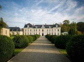 Château de Courcelles, Courcelles-sur-Vesle (рядом с городом Bourg-et-Comin)
