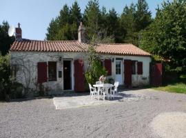 House Le coteau, Le Poiroux (рядом с городом Grosbreuil)
