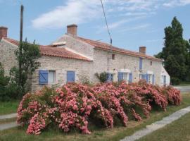 House La fermette à jj, Château-Guibert (рядом с городом Moutiers-sur-le-Lay)
