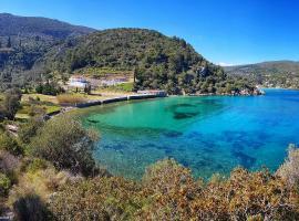 Villa Glyfos, Кервели (рядом с городом Poseidónion)