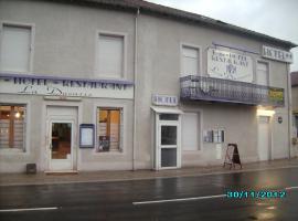 Hôtel La Ducasse, Coussey (рядом с городом Gondrecourt-le-Château)