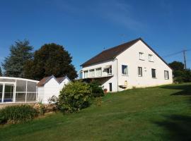maison avec piscine, Triguères