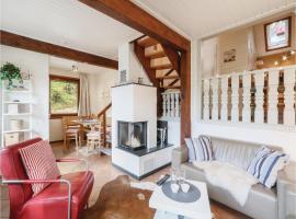 Holiday Home Kirchheim/Hessen with a Fireplace 04, Reimboldshausen (Solms yakınında)
