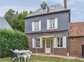Three-Bedroom Holiday Home in Le Bourg-Dun, Le Bourg-Dun (рядом с городом Saint-Aubin-sur-Mer)