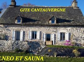 Gite CANTAUVERGNE, Couchat