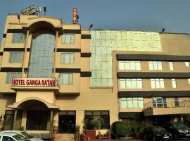 Hotel Ganga Ratan, Агра (рядом с городом Nagla Dhīmar)