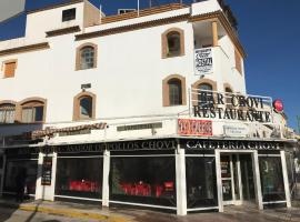 Hostal Restaurante Chovi, Villanueva de Algaidas (Cartaojal yakınında)