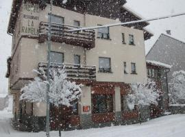 Hotel La Rambla, Бьескас (рядом с городом Йоса-де-Собремонте)