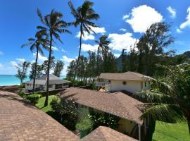 Waimanalo Beach Cottages, Waimanalo (in de buurt van Hawaii Kai)