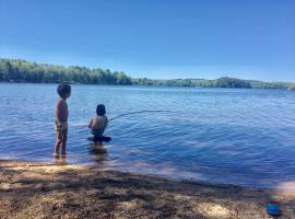 Direct Jardin Plage Lac, Moux-en-Morvan (рядом с городом Montsauche)