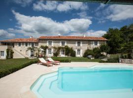 Villa Joli Verger, Lusignac (рядом с городом Bertric-Burée)