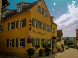 Weingut / FeWo Galena, Sommerach (Schwarzach am Main yakınında)